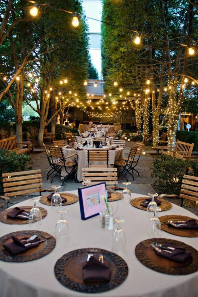 Marie Gabrielle Restaurant Gardens Weddings Dallas TX SO