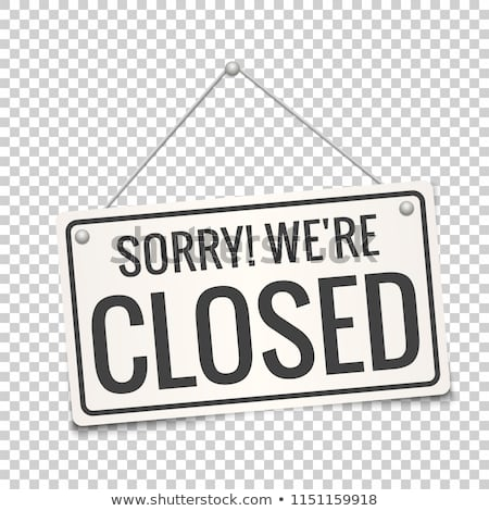 Sorry We Are Closed White Sign With Shadow Isolated On Transparent Background Realistic Vector Illustration Business Concept For Cl Vyveski Znaki Instagram