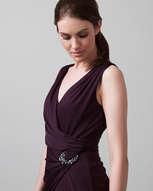 Simple Wedding Dresses John Lewis: Phase Eight Eva Full Length Dress Purple