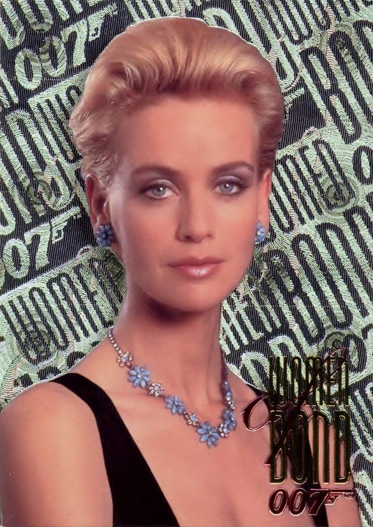 PR Woman (Daphne Deckers) - Tomorrow Never Dies (Inkworks Trading Cards).