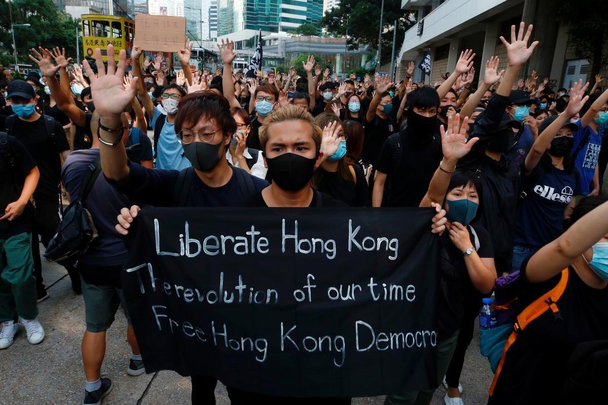 Pin On Hong Kong Protests