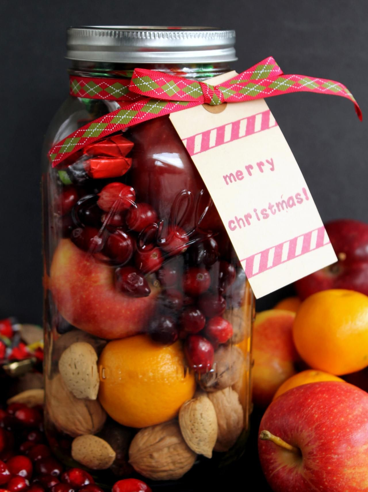 Make This Fruit Basket In A Jar For Those On