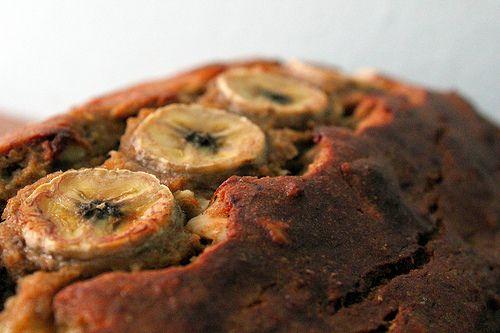 banana nut bread (healthy)