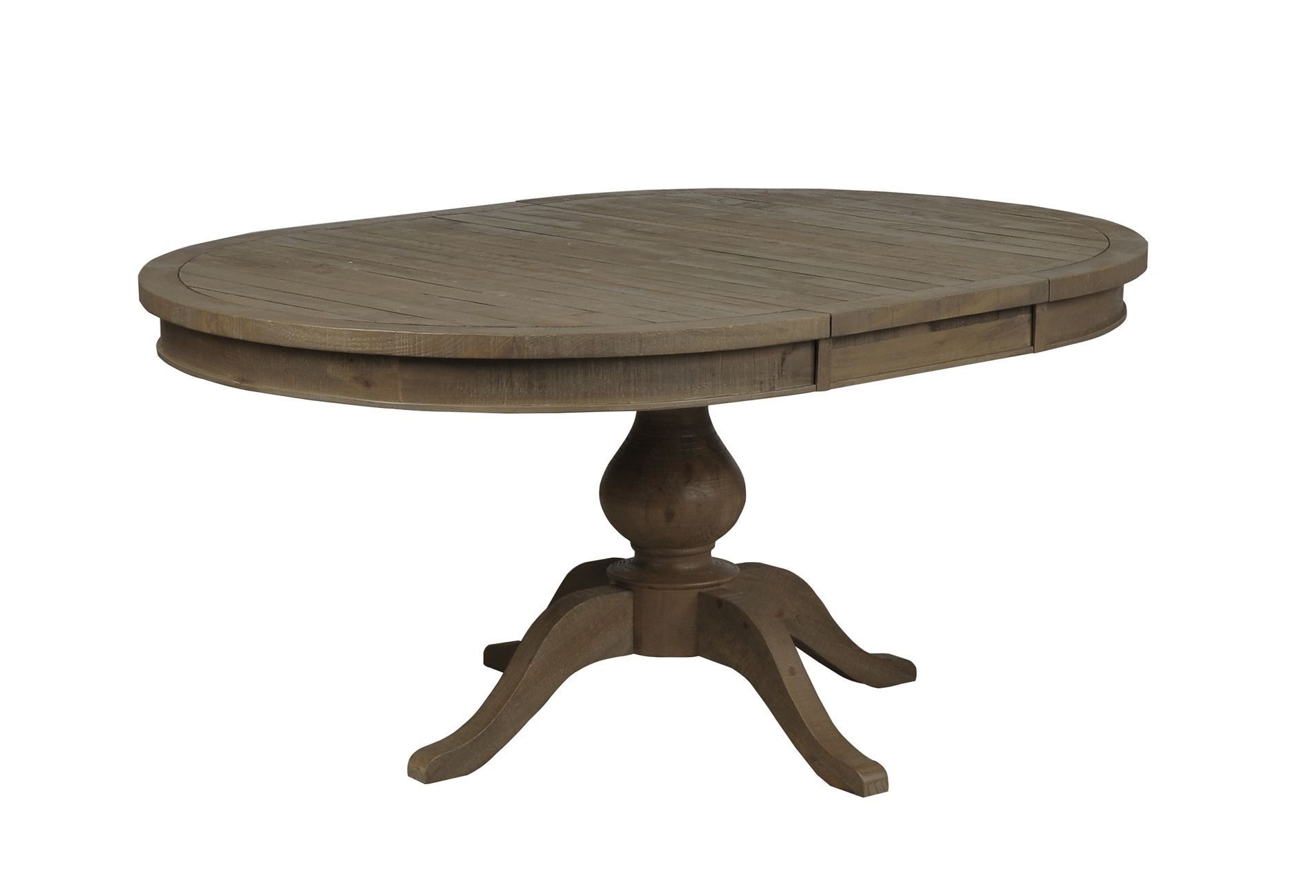 Beckett Round To Oval Dining Table Living Spaces 475 Table Only Solid Wood Dining Table Dining Table With Leaf Living Table