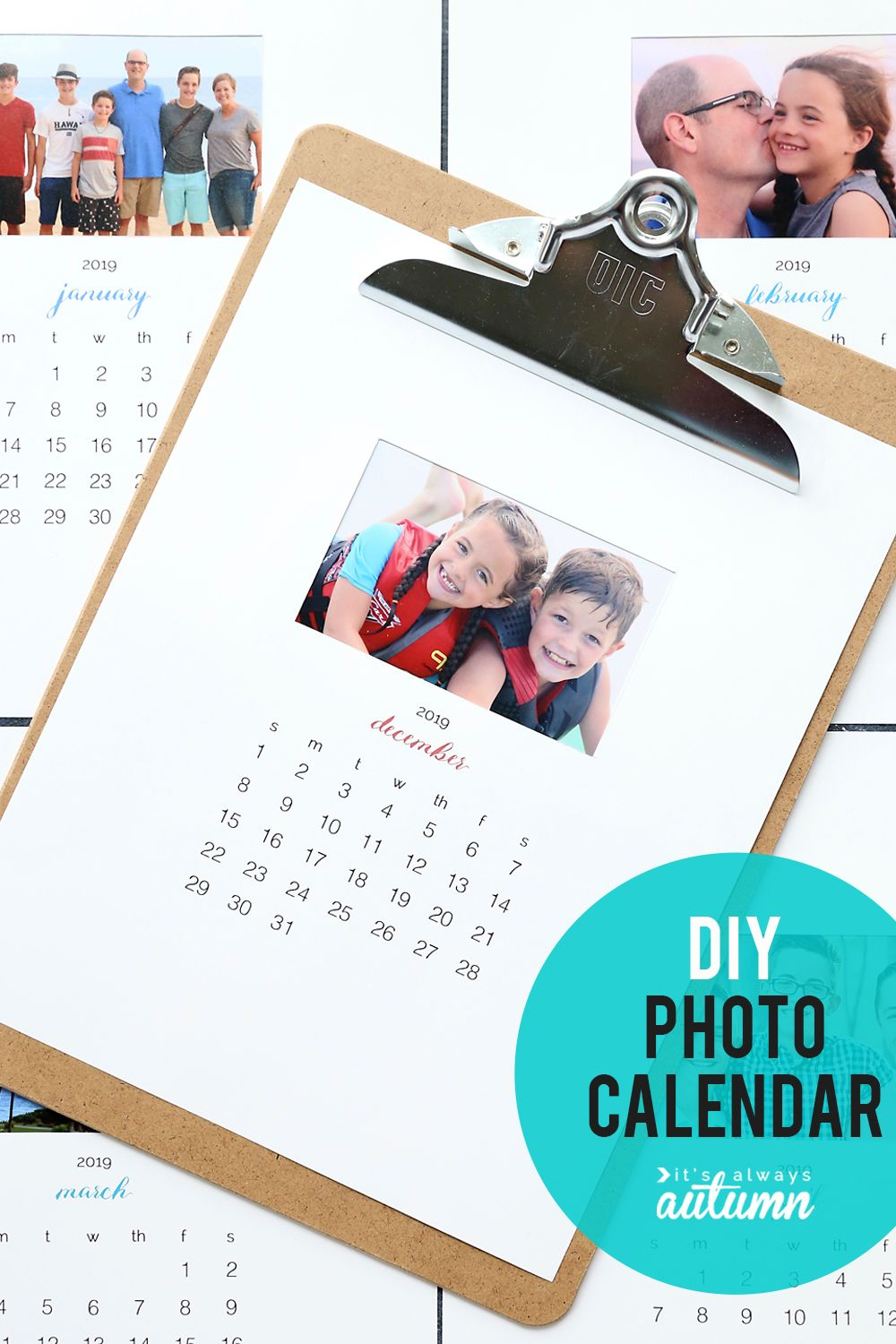 Make A Personalized 2020 Photo Calendar Free Templates It S