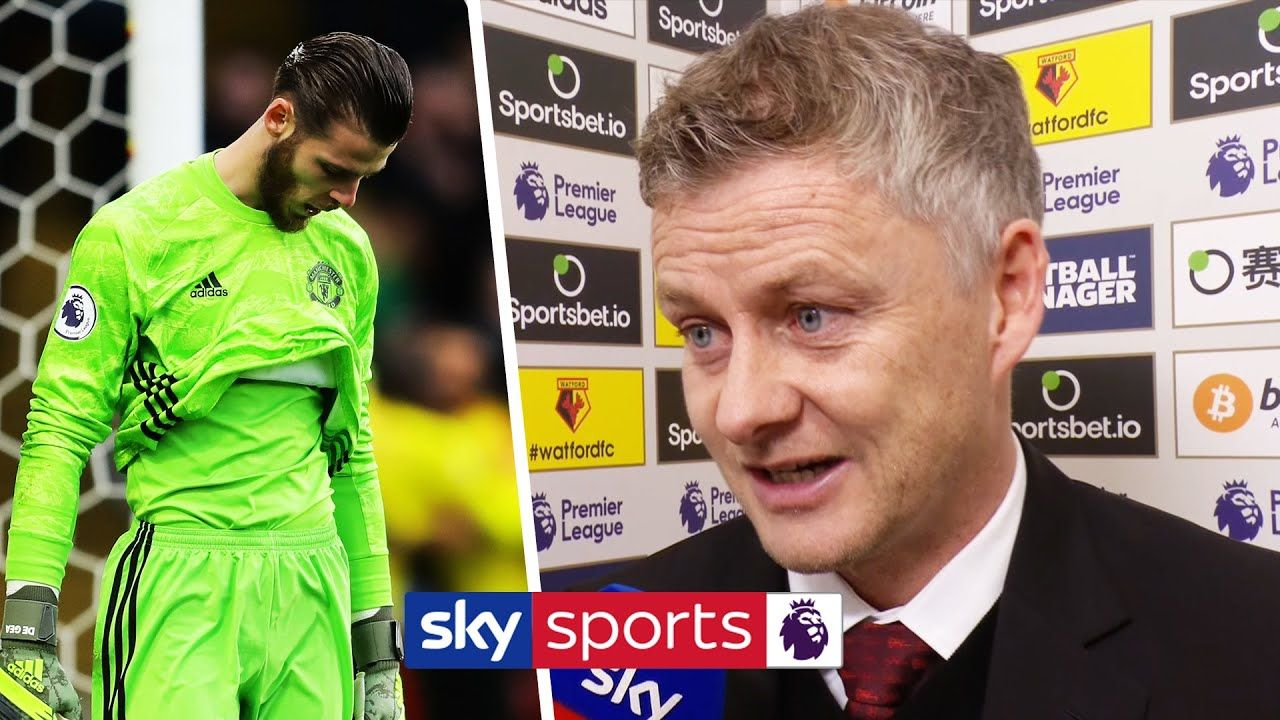 Ole Gunnar Solskjaer defends David De Gea after his