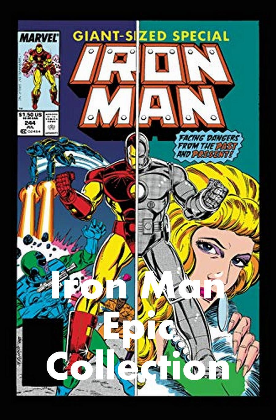 Iron Man Epic Collection Iron Man Tony Stark Superhero Comics