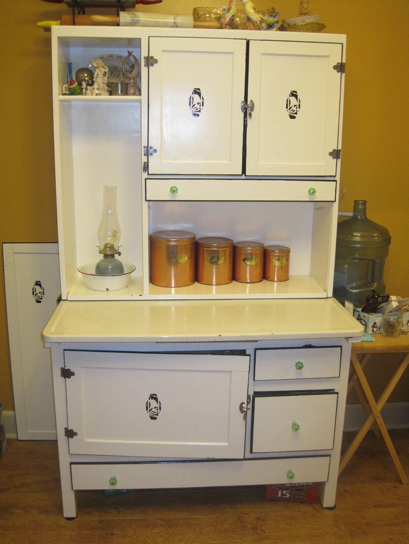 Kitchen  Vintage kitchen cabinets, Hoosier cabinets, Cabinets for