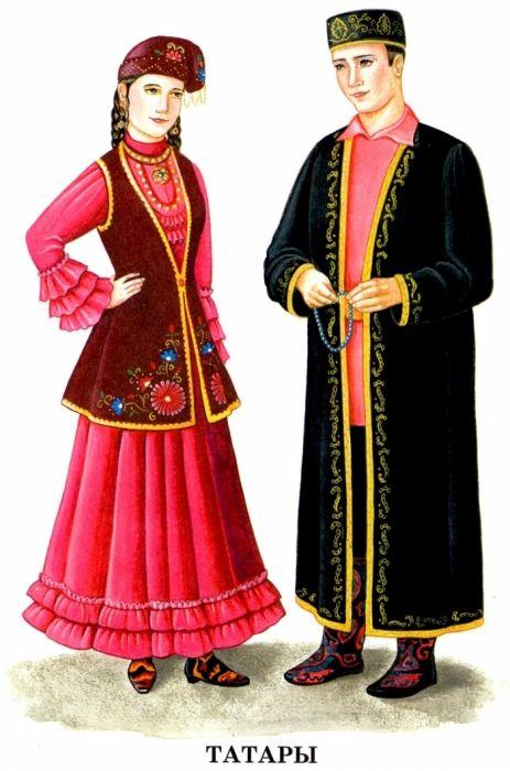фото народные костюмы россии