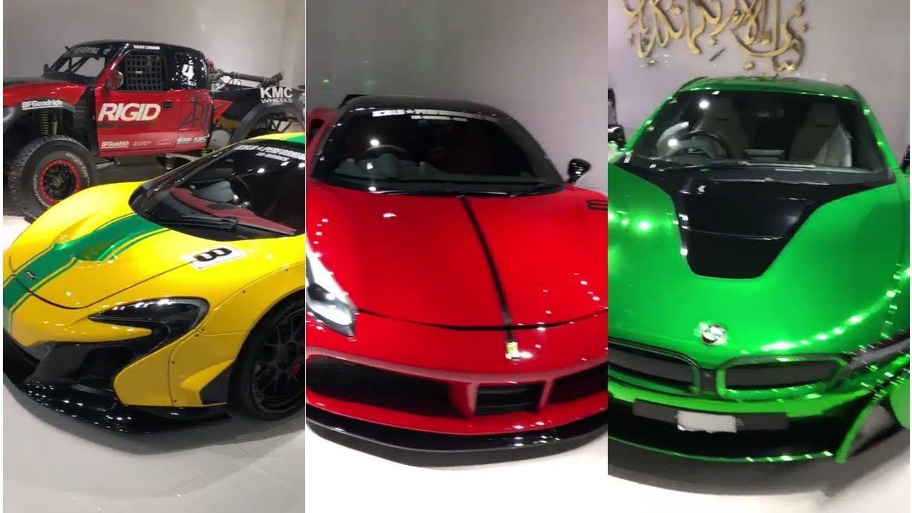 Saad Zaman Sports Cars In Garage Islamabad Wah Cantt Liberty Walk Ferrari Sports Cars Bentley Mulsanne