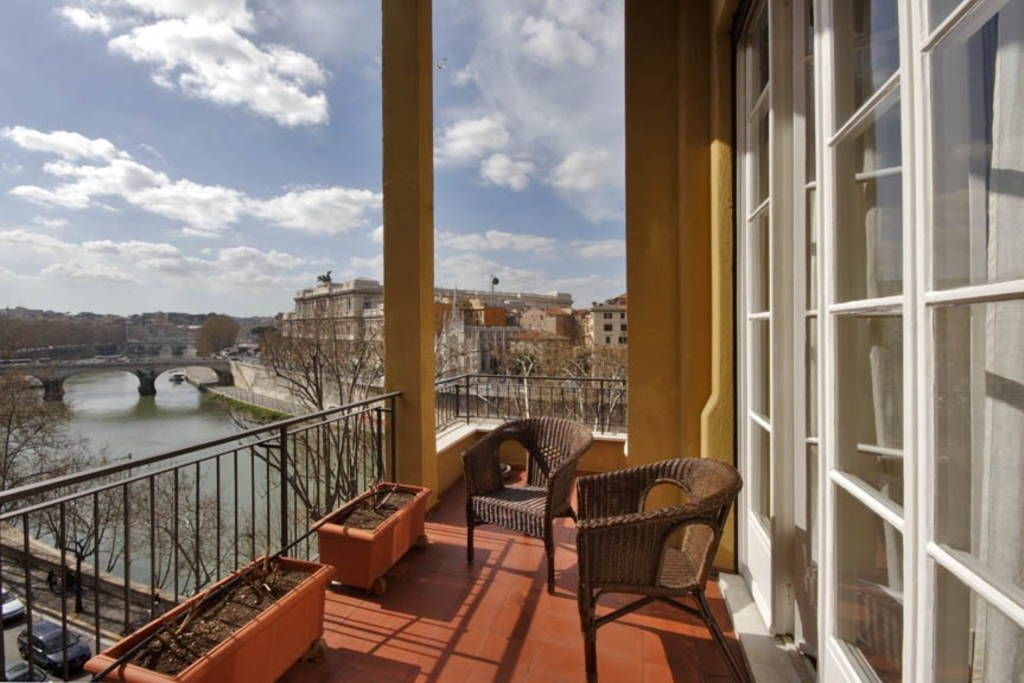 Check out this awesome listing on Airbnb: Tiber View Charme and Terrace - Apartments for Rent in Roma