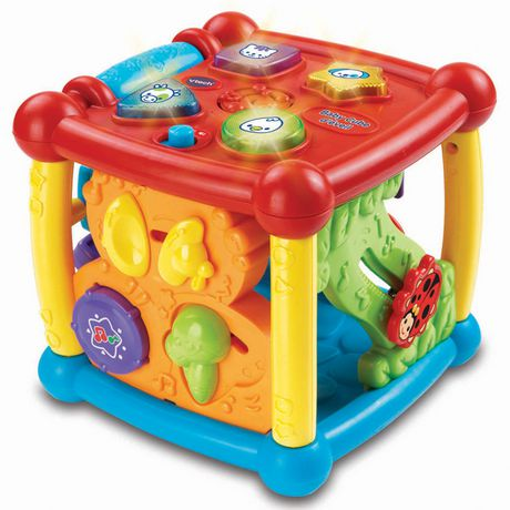 Vtech Busy Learners Activity Cube English Version Aaa