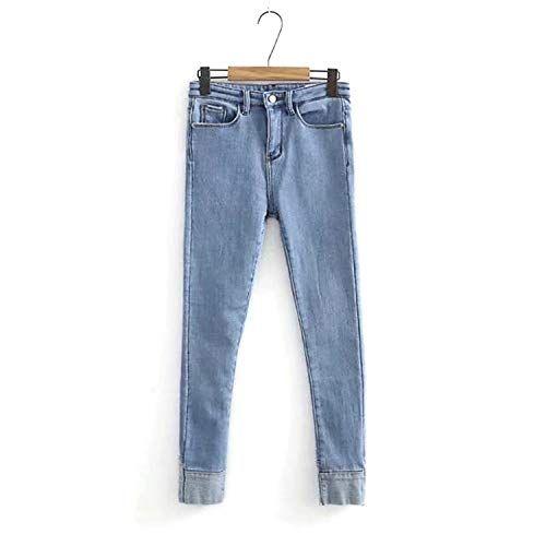 0d4774ac0f Successg Pantaloni Jeans Skinny Caldi in Pile Invernale Pantaloni Donna  Skinny Elastici in Denim A Vita