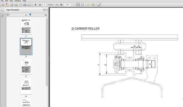 Hyundai R480,520LC-9 Crawler Excavator Service Repair