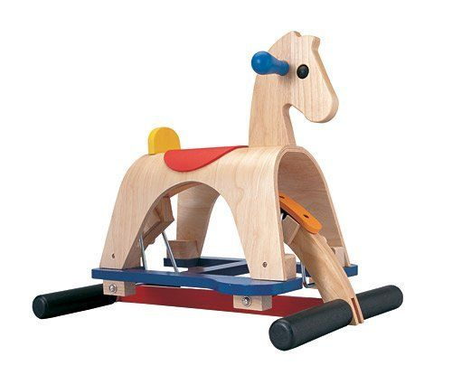 Plantoys Lusitano Rocking Horse By Plan Toys 129 95 From The Manufacturer Plan Toy Lusitano Is An Old World Clas Plan Toys Toys Rocking Horse