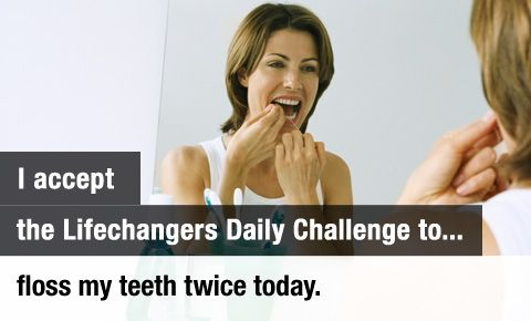 daily challenge fact dental flossing was inventeda