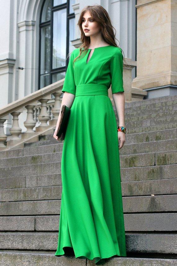 Casual Dress, Maxi Dress, Going Green Dress, Trendy Plus ...
