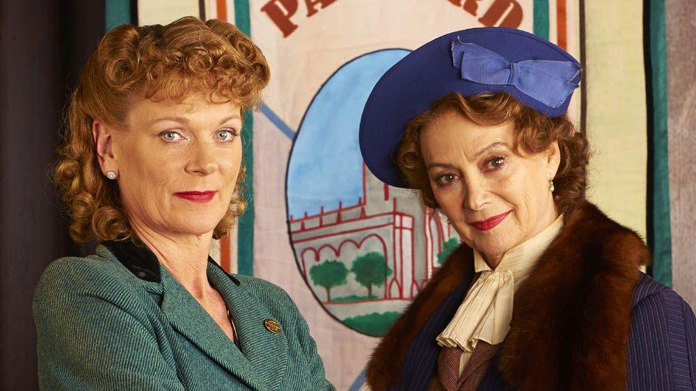 Home Fires....Frances Barden played by (Samantha Bond) & Joyce Cameron (Francesca Annis)
