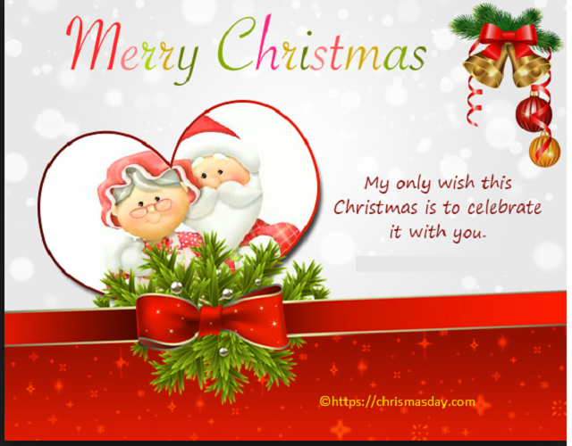 Business Christmas Greetings Merry christmas boyfriend
