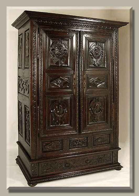 Antique Furniture ~ Country French Armoire, www.inessa.com - Antique Furniture ~ Country French Armoire, Www.inessa.com