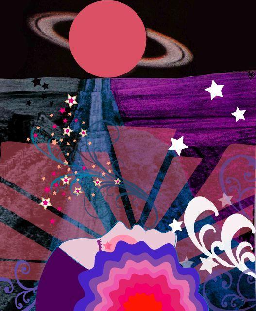 light color sound queen crimson graphic design pinterest