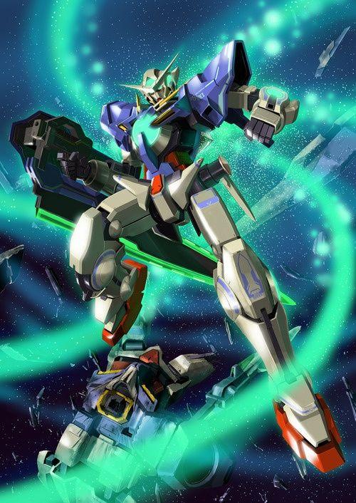 Gn 001reii Gundam Exia Repair Ii Mobile Suit Gundam 00 Gundam Exia Gundam 00 Gundam exia wallpaper 4k