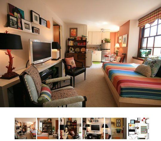 Small Cool 2009: Moo & Ju's Super Comfy | Studio apartment ...