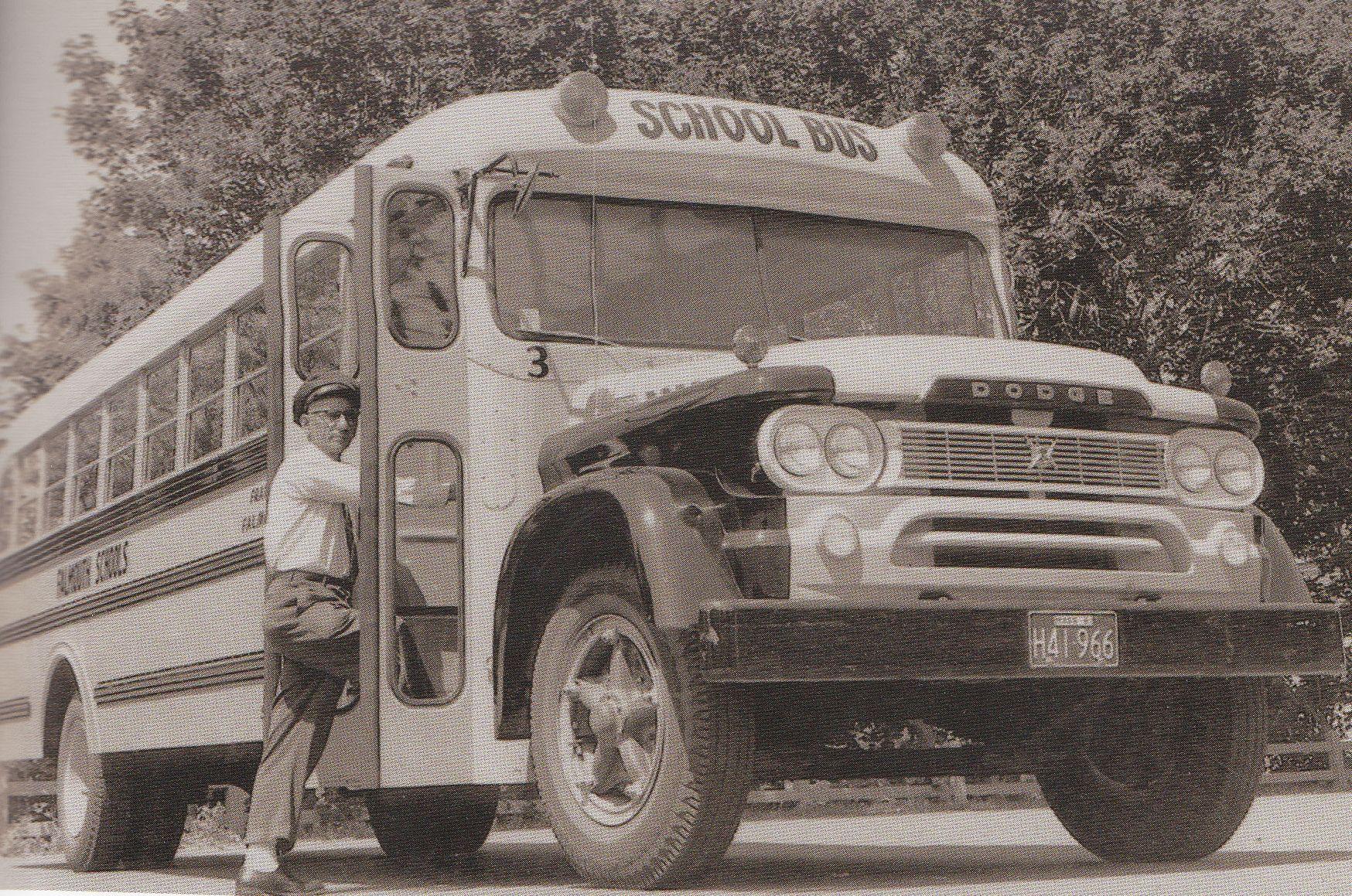 Frank Rego School Bus Driver 60 S Old School Bus School Bus School Bus Driver