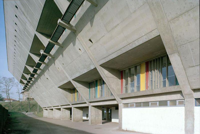 Ле Корбюзье / Le Corbusier. Дом культуры Фирмини (Maison ...