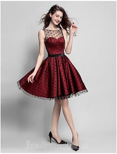 Australia Cocktail Party Dress Burgundy Plus Sizes Dresses Petite A