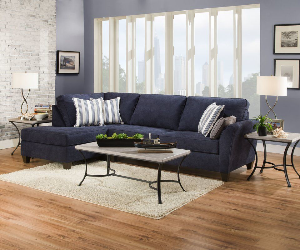 Eaker 117 Left Hand Facing Sectional Furniture Sectional Sofa Sectional
