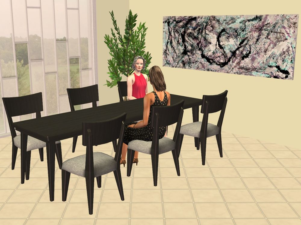 Ts2 3 Tile Oaktowne East Side Dining Table By Michelle Mts Dining Table Side Chairs Dining Table