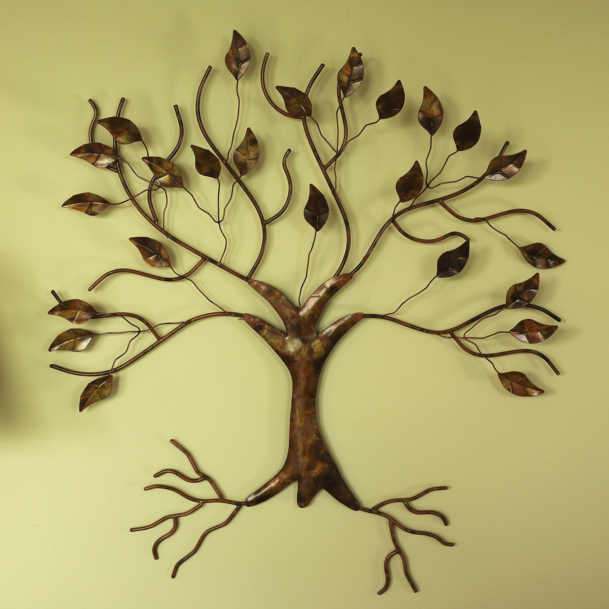 Majestic Splendor Wall Sculpture Copper | Tree Art | Pinterest ...