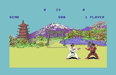 On instagram by tubatossen #c64 #microhobbit (o) http://ift.tt/1ZzyLIq screenshot of one of my first games and a all time favourite Exploding Fist. I still smile when i hear the score :) this is where it all started. I still work with computers I still game and i still do karate #nerd #gamer #karate #oldschool #retro