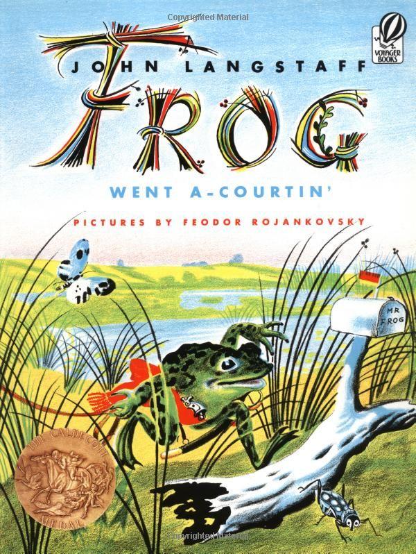 Amazon.com: Frog Went A-Courtin' (9780156339001): John Langstaff, Feodor Rojankovsky: Books