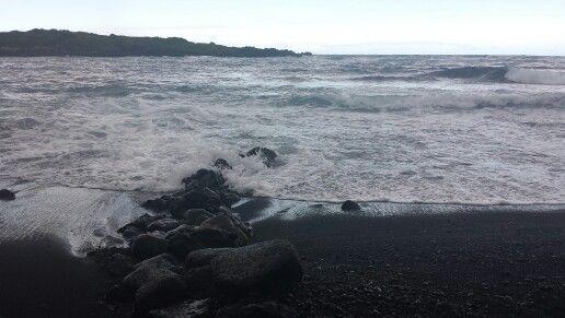 Hawaii/ Black Sand Beach