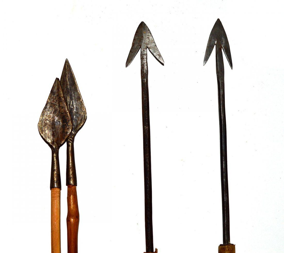 Antique Handmade Bow and Arrows :   amazing that these are handmade