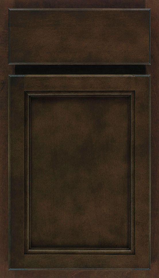 Final Cabinet Choice Aristokraft Sinclair Square Birch Umber