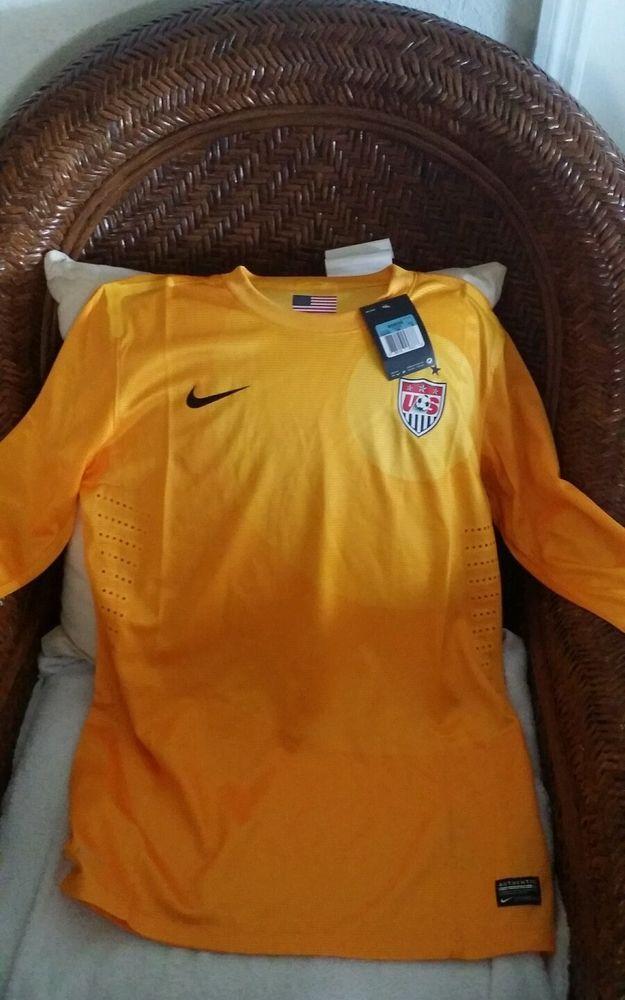 USA Nike World Cup Soccer Jersey yellow size M womens in Sports Mem ... 31e3267ba1