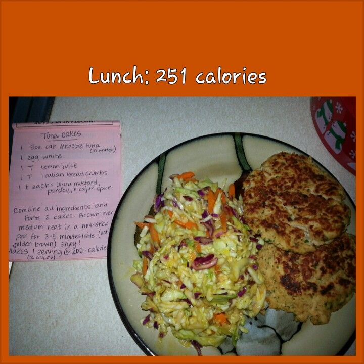 Low Calorie Tuna Fish Cakes