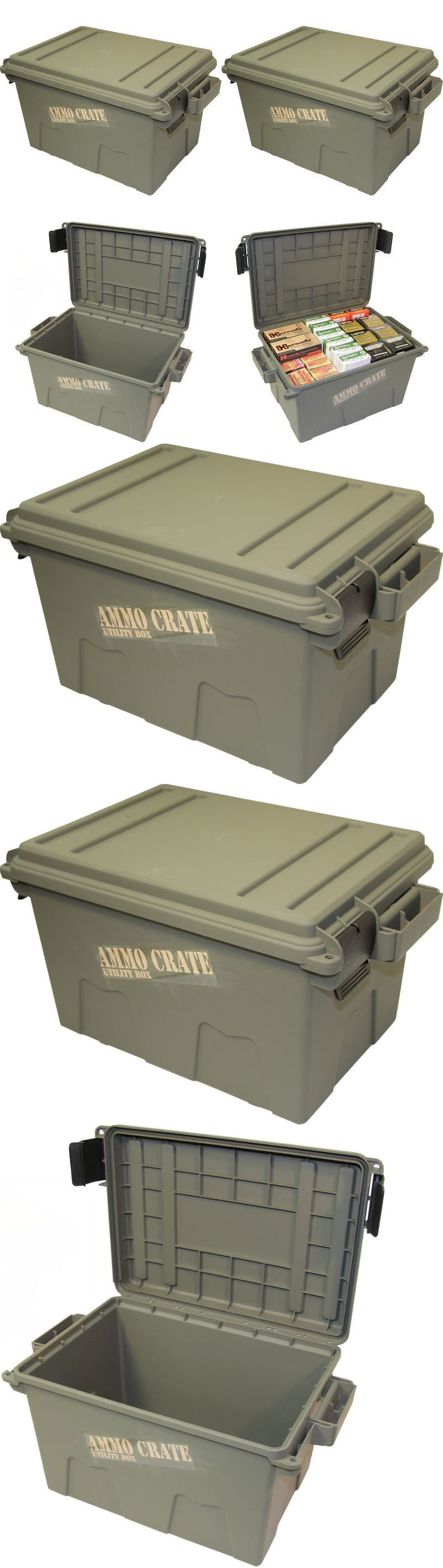 Ammunition Cases and Cans 177886 Ammo Crate Utility Box Shotgun