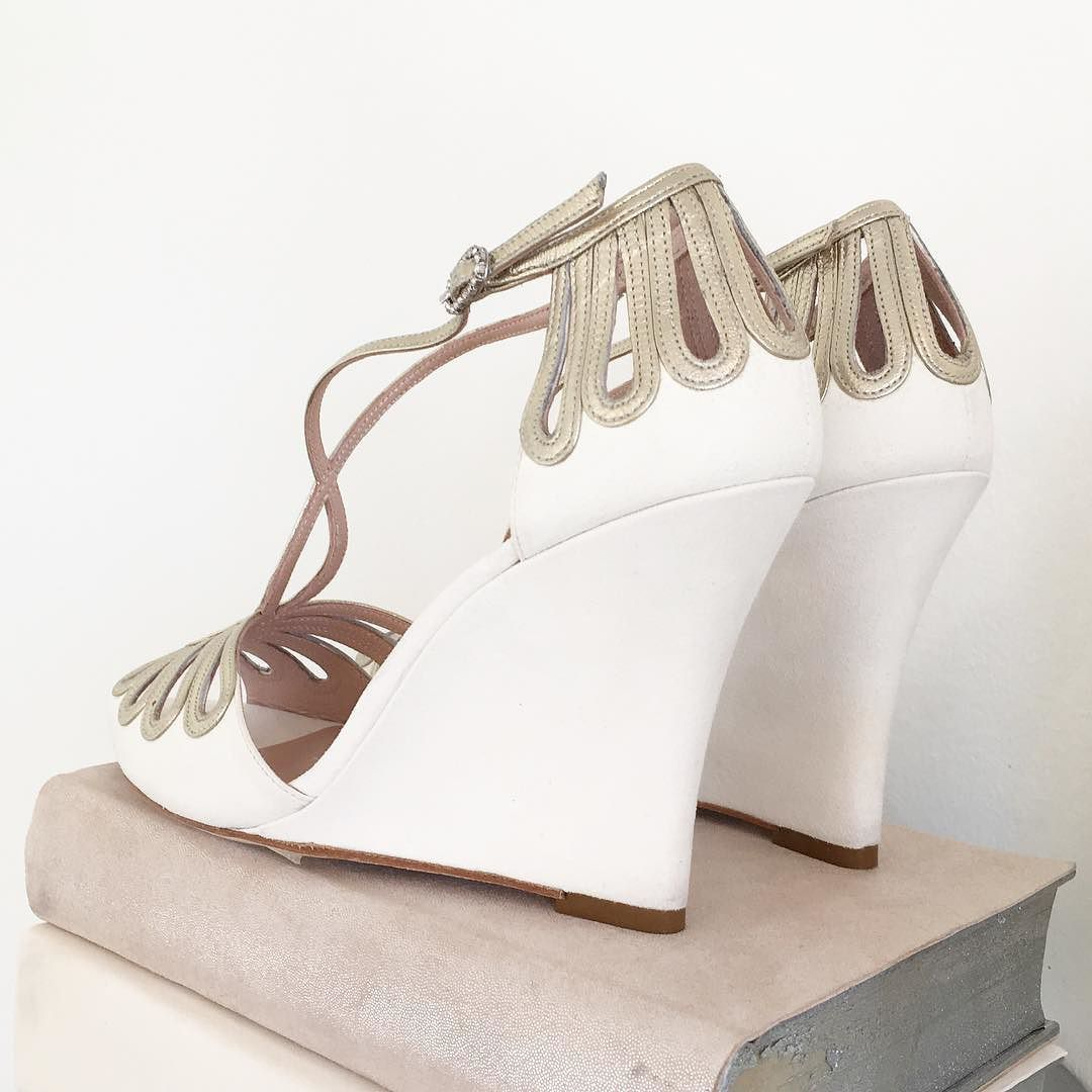 Hold off the search for the perfect bridal wedge