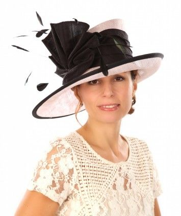 2cf9ca5fa99f5 Snoxell Gwyther - Occasion Hat (Black/shell) - Wedding Hats | Occasion Hats