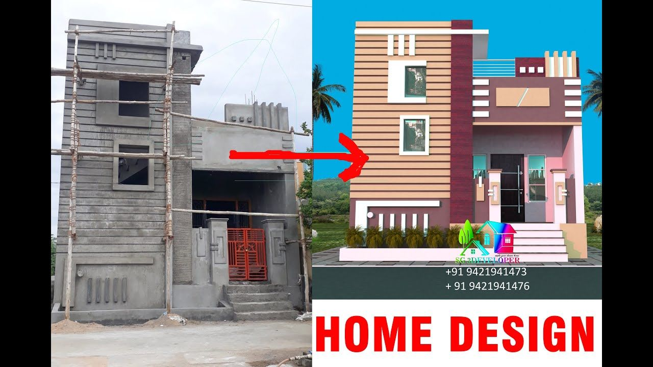 Best Colors For Home Design Latest Home Design Colors New Home Des Village House Design Latest House Designs Small House Elevation Design