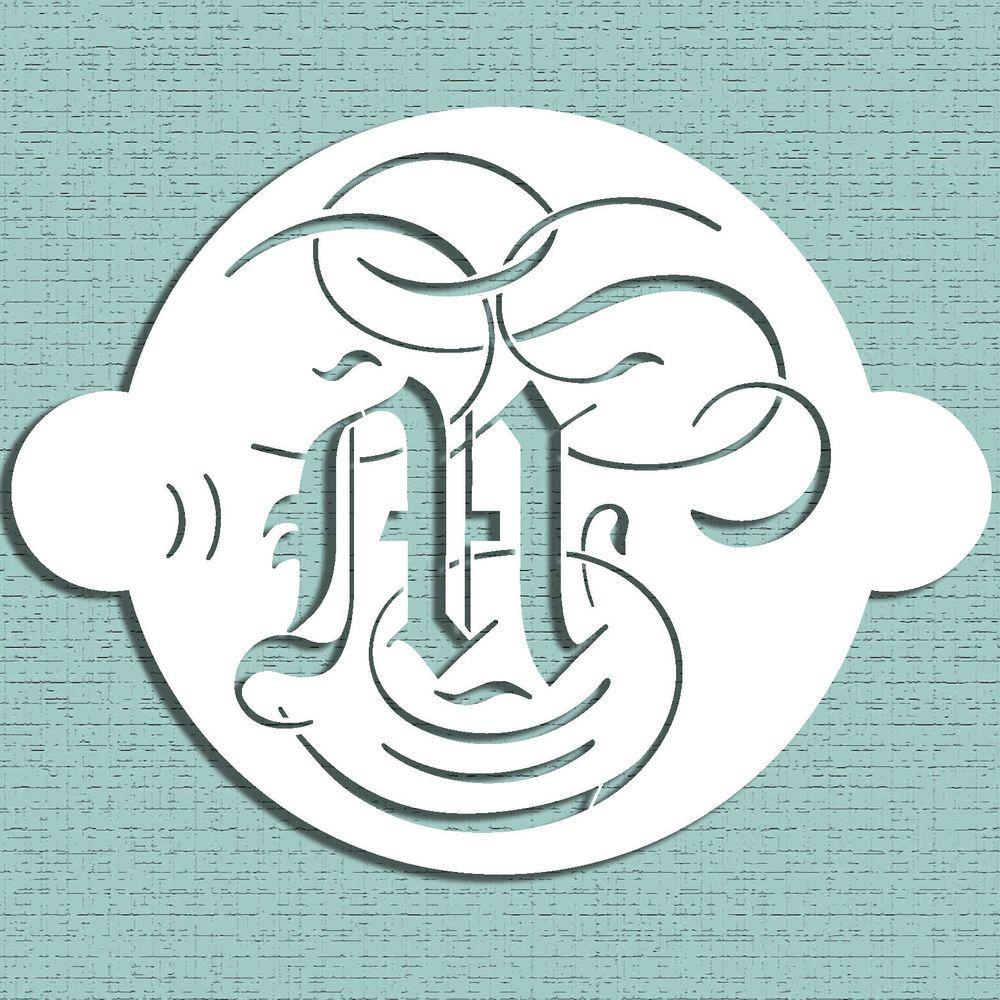 Designer stencils ms9 martha stewart cake monogram 9 stencil designer stencils ms9 martha stewart cake monogram 9 stencil letter spiritdancerdesigns Choice Image
