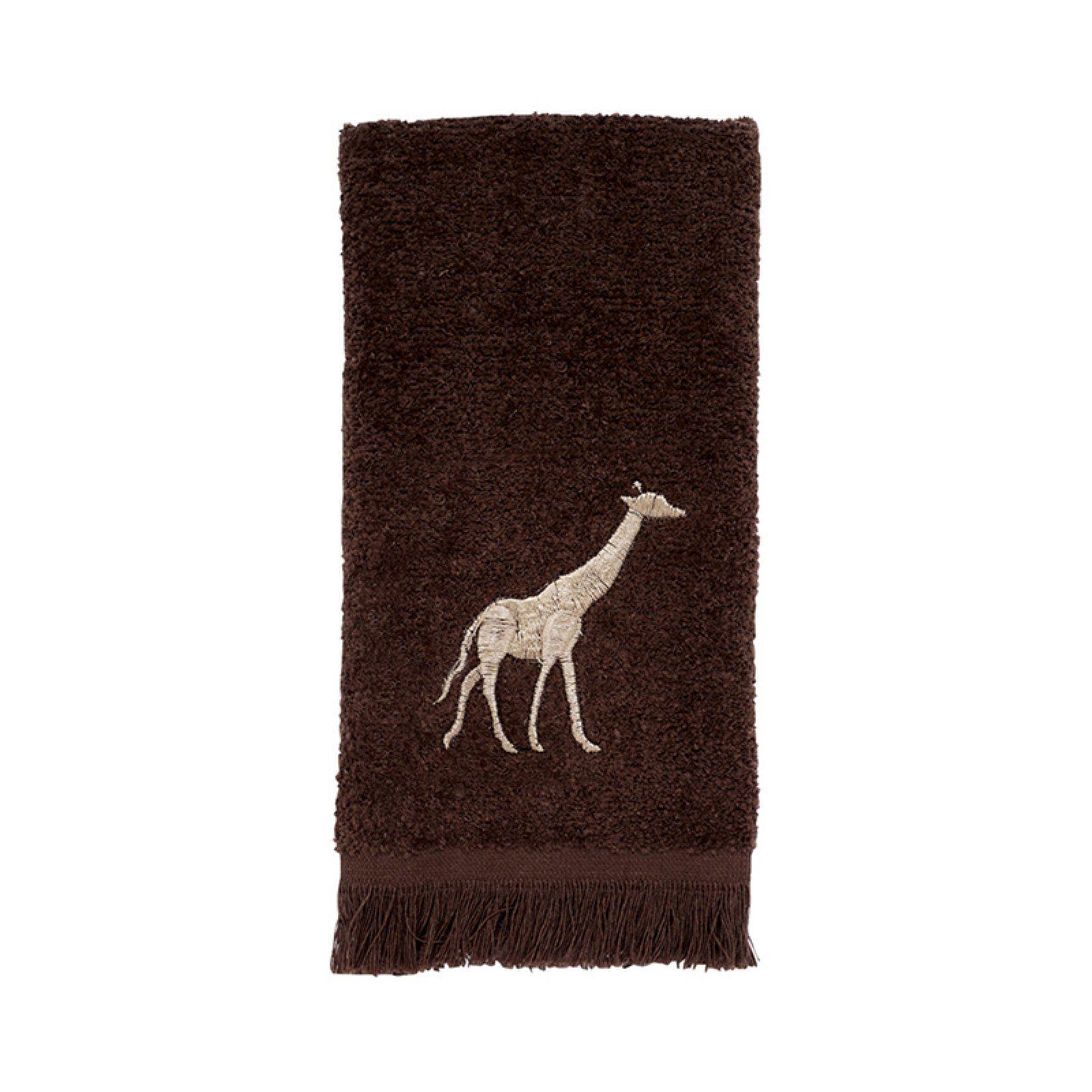 Avanti Linens Animal Parade Fingertip Towel Animal Parade