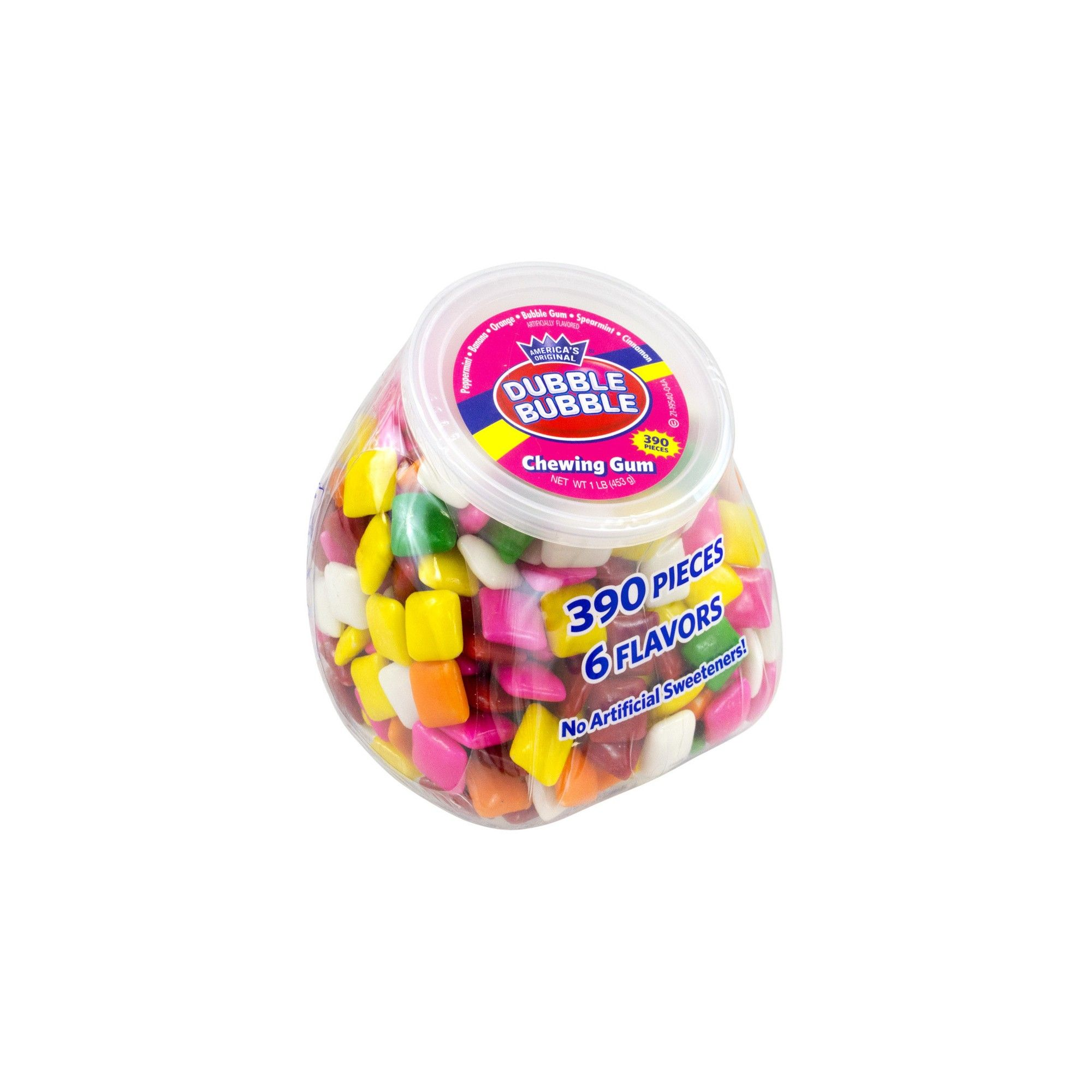 Dubble Bubble Chewing Gum Office Pleasures Tub - 390ct   Chewing gum ...