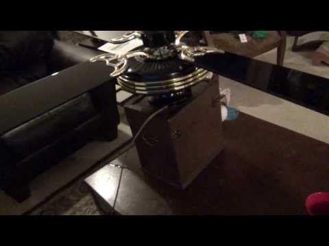 Kenmore Saturn Copy Ceiling Fan Part Ii Youtube Ceiling Fan Parts Ceiling Fan Kenmore