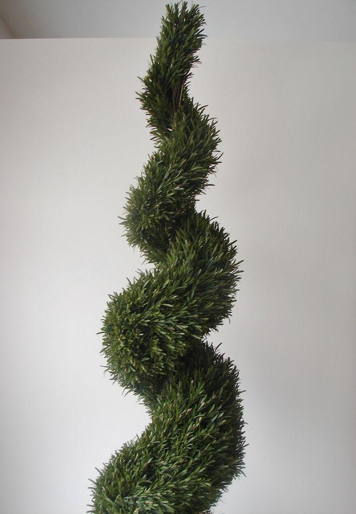 k nstliche rosmarinspirale 190cm rosmarin formschnitt dekobaum kunstbaum spirale kunstblumen. Black Bedroom Furniture Sets. Home Design Ideas
