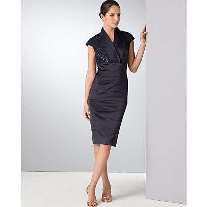 Tadashi Shoji Beaded Cocktail Dress - Photo | My Style | Pinterest ...